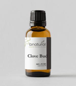 bnatural clove bud essential oil