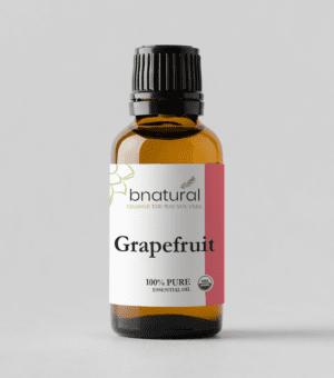 bnatural pink grapefruit essential oil