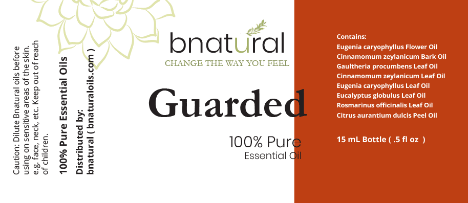 guarded essential oil blend