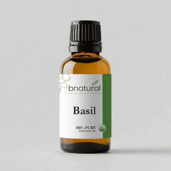 bnatural basil essential oil