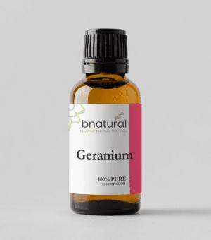 bnatural geranium essential oil