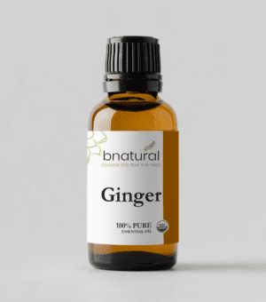 bnatural ginger essential oil