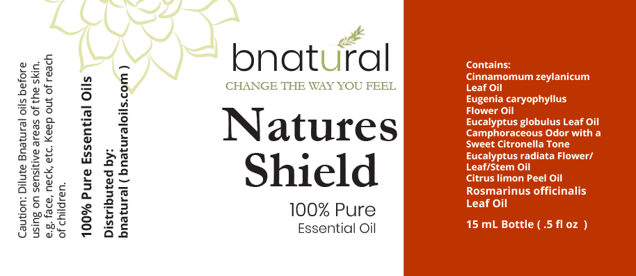 natures shield essential oil blend