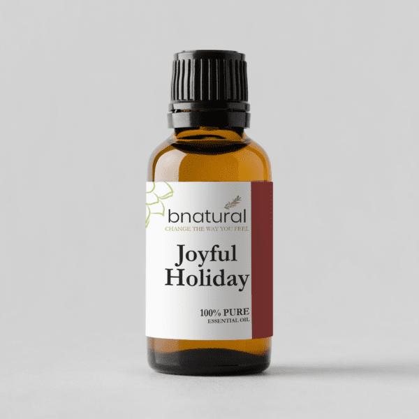 joyful holiday essential oil